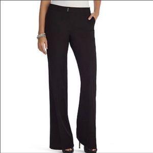 WHBM Legacy Modern Boot Black Pants Size 4R